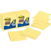 Post-it® Super Sticky Pop-up Notes R330-10SSCY, 3 x 3 in Canary Yellow 90 sht/pad 10 pad/pk