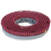 """Carlisle EZ Snap Value Rotary General Cleaning Brush 20"""" Red - 3620VRD"""