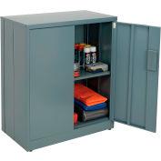 "Global Industrial™ EZ Assemble Steel Storage Cabinet, 36""W x 18""D x 42""H, Gray"
