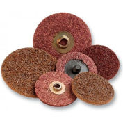 """3M™ Scotch-Brite™ Roloc™ Surface Conditioning Disc TR, 4""""D, NH, MED Grade"""