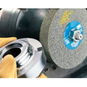 "3M™ Scotch-Brite™ EXL Deburring Wheel, 6"" x 1"" x 1"", 8A MED Grade"