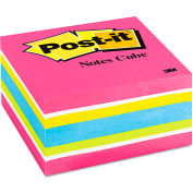 """Post-it® Notes Cube 2027RCR, 3"""" x 3"""", Ultra, 390 Sheets, 1/Pack"""