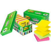 "Post-it® Pop-up Notes Ultra Pop-Up Note Refills R33018AUCP, 3"" x 3"", Ultra, 100 Sheets, 18/Pack"