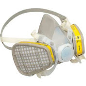 3M™ 5203 Half Facepiece Disposable Respirator Assembly, Medium, 1 Each