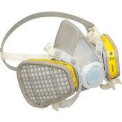 3M™ 5203 Half Facepiece Disposable Respirator Assembly, Medium, 1 Each