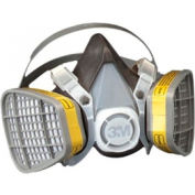 3M™ 5000 Series Half Facepiece Disposable Respirators, OV/AC, Large, 5303