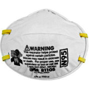 3M™ 8110S N95 Disposable Particulate Respirators, Small, 20/Box