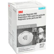 3M™ 8200/07023(AAD) N95 Disposable Particulate Respirator, Box of 20