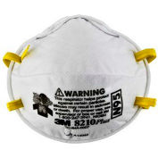 3M™ N95 Particulate Respirators, 8210PLUS, Box of 20