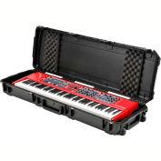 "SKB Watertight, Injection Molded 76 Note Keyboard Case W/Wheels Water Resistant, 53-1/16""L x 17""W"