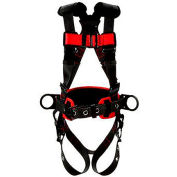 3M™ Protecta® 1161308 Construction Style Harness, Back & Side D-Rings, S