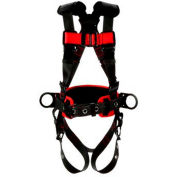 3M™ Protecta® 1161309 Construction Style Positioning Harness, Back & Side D-Ring, M/L