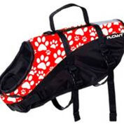 Flowt 40902-2-S Dog Life Vest, Red, Small