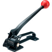 """Global Industrial™ Feedwheel Tensioner for 0.035"""" Thick & 3/8-3/4"""" Strap Width, Black & Red"""