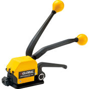 """Global Industrial™ Sealless Strapping Tool, 3-5/16""""L x 5-1/16""""W x 1-1/4""""H, Yellow & Black"""