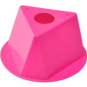 Global Industrial™ Inventory Control Cone, Hot Pink