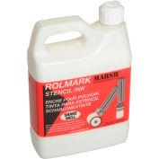 Marsh® 20923 Rolmark Stencil Ink, 1 Quart, White