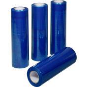 """Global Industrial™ Stretch Wrap, Cast, 80 Gauge, 18""""Wx1500'L, Blue Tint - Pkg Qty 4"""