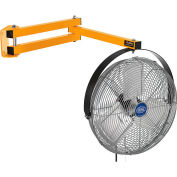 """Wesco Dock Fan With 40""""L Double Arm 27232-8"""