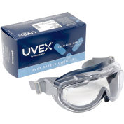 Uvex Flex Seal Anti-Fog Goggle, Navy