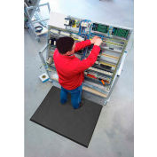 """NoTrax® T17 Superfoam™ Anti Fatigue Mat 5/8"""" Thick 3' x Up to 75' Black"""