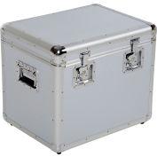 """CASE-M Aluminum Storage Case Medium 21-1/2"""" x 16-1/4"""" x 19-1/4"""""""