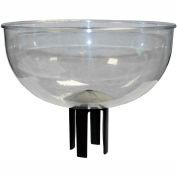 "Queueway Bowl Merchandising & Impulse Sales Bowl, 12-1/2"" Diameter"