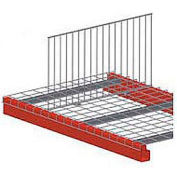 """Pallet Rack Wire Deck Divider 40""""D X 18""""H"""