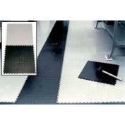 """Pvc Tile Mat 19-1/2"""" X 19-1/2"""" Gray - Pkg Qty 12"""