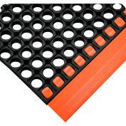 """Wearwell® WorkSafe® Edging 7/8"""" Thick Orange"""