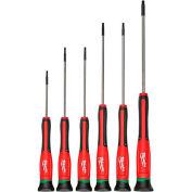 Milwaukee® 48-22-2610 6 Pc. TORX® Precision Screwdriver Set W/ Case