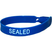 Omnimed® 484115-B Plastic Numbered Truck Seals, Blue, 100/Pack