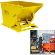 Chain Pull Latch for Extreme Height Dumping for Wright Self-Dumping Hoppers - Yellow