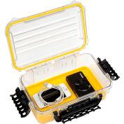 "Plano Guide Series Airtight & Waterproof Storage Case, 11""L x 7-1/4""W x 4""H, Yellow"
