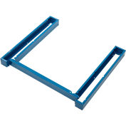"""Global Industrial™ Cabinet Base for Modular Drawer Cabinet 30""""Wx27""""D, Blue"""