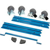 """Global Industrial™ Handle and Wheel Kit for Modular Drawer Cabinet 30""""Wx27""""D"""