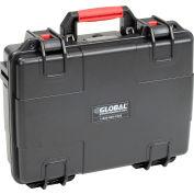 """Global Industrial™ Waterproof Hard Case w/Pinch Tear Foam 16-11/32""""L x 13-3/16""""W x 4-3/4""""H, BLK"""