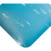 "Wearwell® SMART® Tile-Top™ Anti Fatigue Mat 1/2"" Thick 2' x 3' Blue"