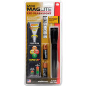 Maglite® SP2201H 2 Cell AA Mini LED Flashlight Black