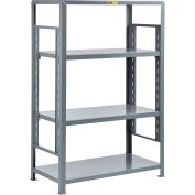 "Little Giant® 4SH-A-2448-72 Heavy-Duty Adjustable Steel Shelving, 24"" x 48"", 4 Shelves"
