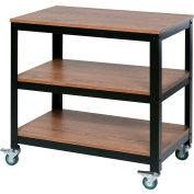 OneSpace Mobile Loft Companion Shelf - Steel with Wood Surface