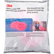 3M™ Particulate Filter 2091/07000(AAD), P100 Respiratory Protection, 2/PK