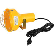 Global Industrial™ Dock Light Head Only, Par38 Bulb Compatible, 8' Cord & Plug