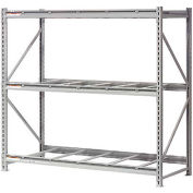 """Global Industrial™ Extra High Capacity Bulk Rack Without Decking 96""""W x 36""""D x 96""""H Starter"""