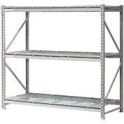 "Global Industrial™ Extra Heavy Duty Storage Rack, Wire Deck, 72""Wx24""Dx72""H Starter"