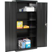Sandusky Elite Series Storage Cabinet EA4R361878 - 36x18x78, Black