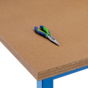 """Global Industrial™  96""""W x 30""""D x 1-1/2""""H Shop Top Square Edge Workbench Top"""