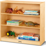 """Jonti-Craft® Fixed Straight 3-Shelf Bookcase - 36""""W x 15""""D x 35""""H"""