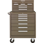 "Kennedy® 297XB & 266B 29""W X 20""D X 49-3/4""H 13 Drawer Roller Cabinet & Mechanics Chest Combo"