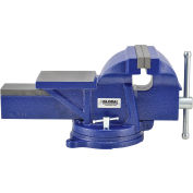 "Global Industrial™ 8"" Jaw Width General Purpose Bench Vise W/ Swivel Base"